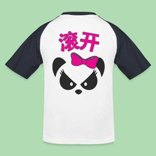 Sweary Panda GunKai! Panda Sleeves - Kids' Baseball T-Shirt