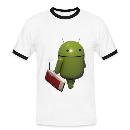 Android-Shirt - Männer Kontrast-T-Shirt