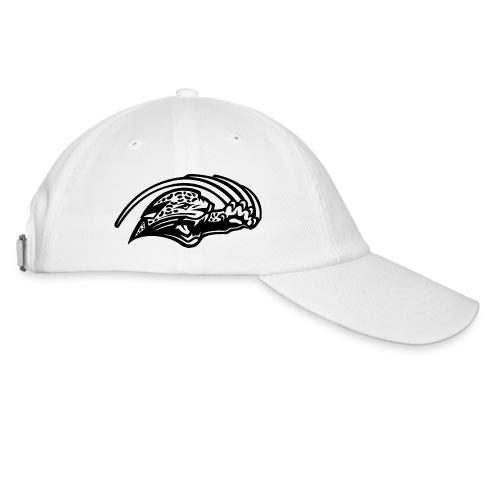 Casquette blanche logo Jaguars noir - Casquette classique