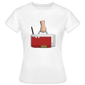 App-Logo Shirt Girl - Frauen T-Shirt