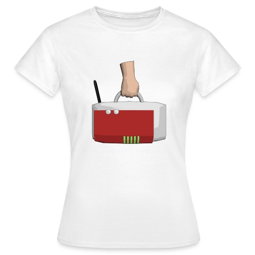 App-Logo Shirt Girl - Frauen T-Shirt