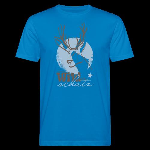 Wilder Schatz Vergissmeinnicht - Männer Bio-T-Shirt