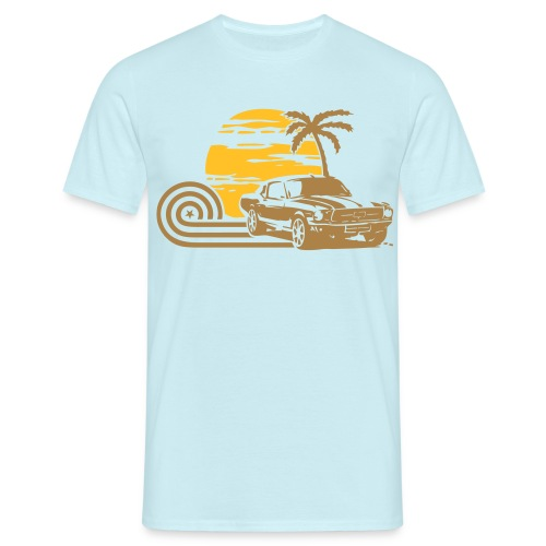 California Mustang Mens - Men's T-Shirt