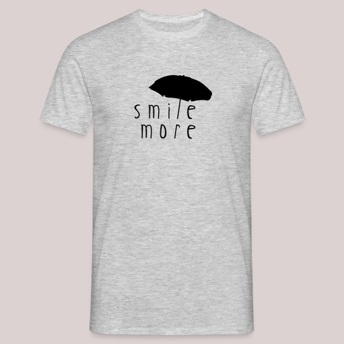 21-30 Smile More Beach - Männer T-Shirt