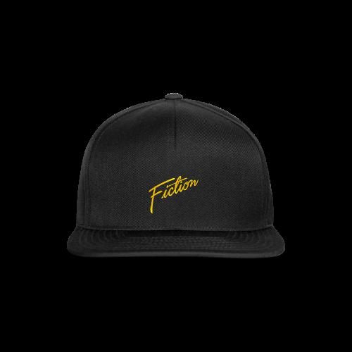 Fiction Logo Snapback (Gold logo) - Snapback Cap