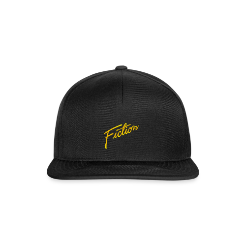Fiction Logo Snapback (Gold logo) - Snapback Cap