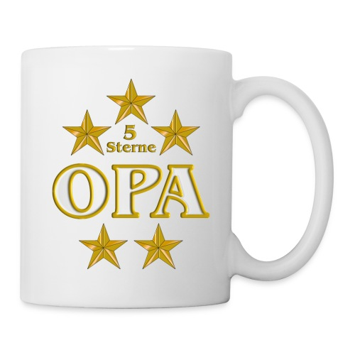 5 Sterne OPA - Tasse