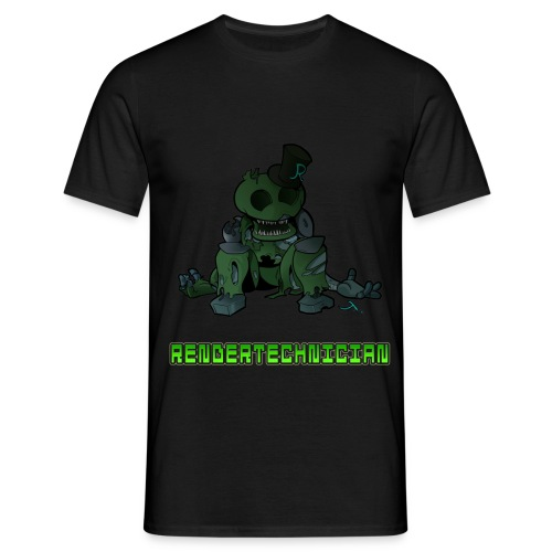 RenderTechnician V1 (Mens T shirt) - Men's T-Shirt