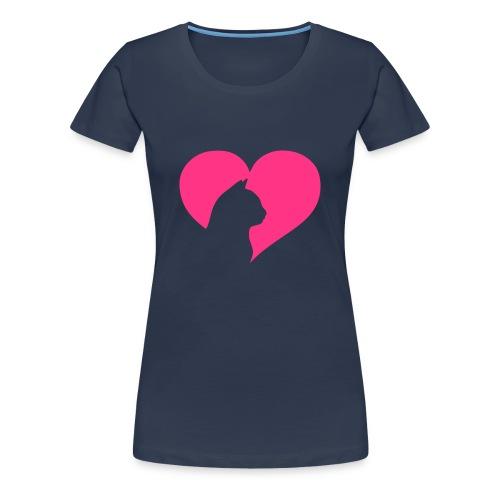 Dames shirt purr kitty - Vrouwen Premium T-shirt