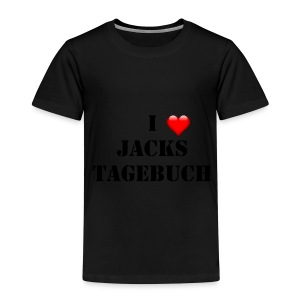 Kinder T- Shirt I love Jacks Tagebuch - Kinder Premium T-Shirt