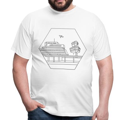 Flughafen Tegel in Berlin - Männer T-Shirt