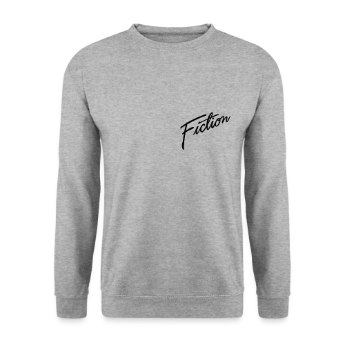 Fiction Skater Jumper (Black fiction skull on back) Mens - Men's Sweatshirt