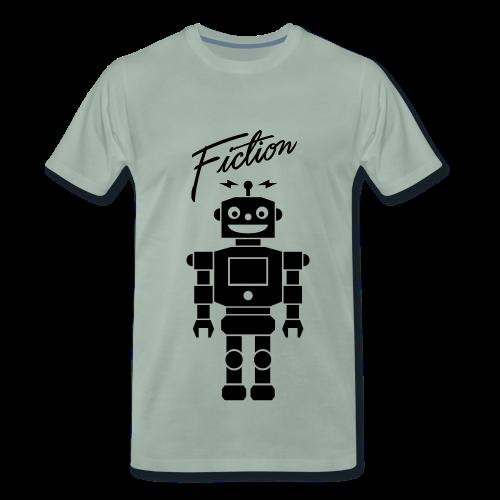 Fiction Robot Tshirt Design Mens - Men's Premium T-Shirt