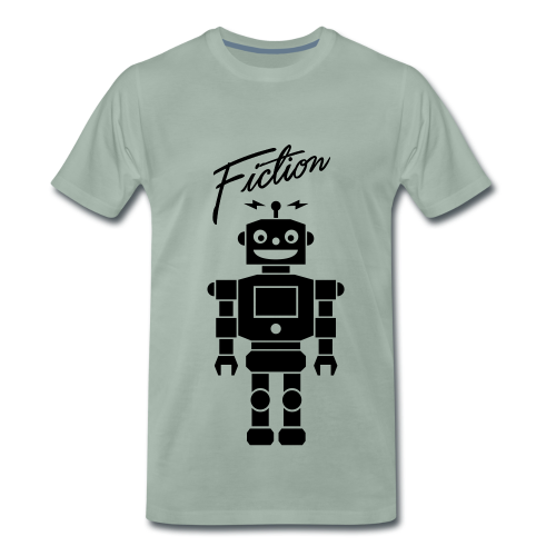 Fiction Robot Tshirt Design Mens - Men's Premium T-Shirt