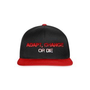 Cap Adapt, change or die - Snapback cap