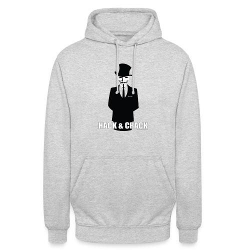 Sweat Anonymous - Sweat-shirt à capuche unisexe