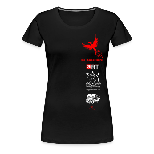 Red Phoenix Racing Team Shirt Frauen Premium - Frauen Premium T-Shirt