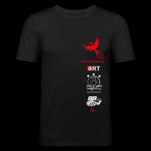 Red Phoenix Racing Team Shirt Slim Fit - Männer Slim Fit T-Shirt