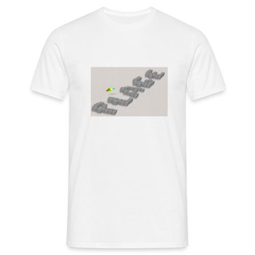 T-shirt sous les pavés la plage - T-shirt Homme
