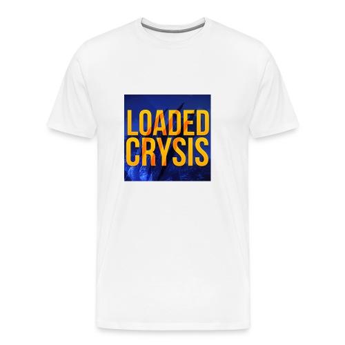 Official LoadedCrysis T-Shirt For Men - Men's Premium T-Shirt