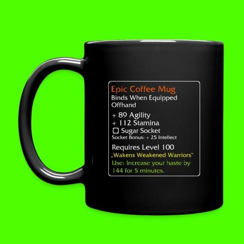 Epic Kaffe - Ensfarvet krus