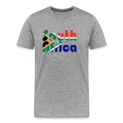 Colors of South Africa - Männer Premium T-Shirt