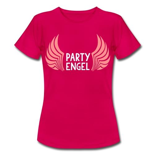 Partyengel - Frauen T-Shirt