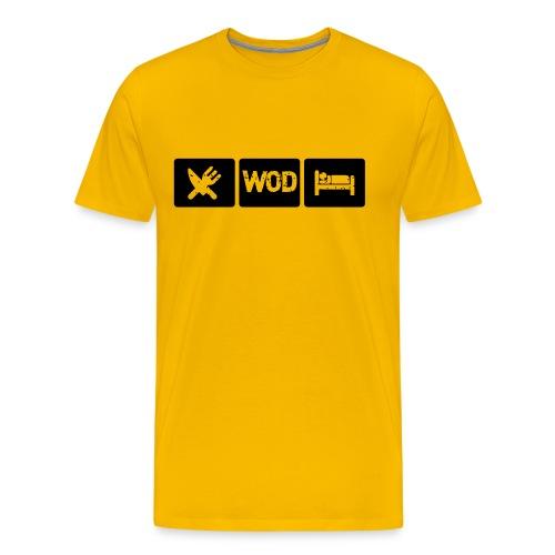 T-shirt Homme Eat WOD - T-shirt Premium Homme