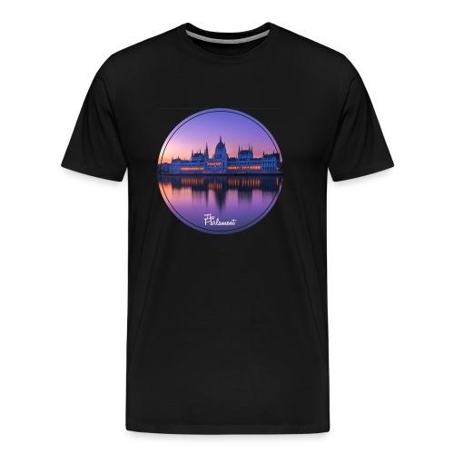 vanilla sky schwarz v1 - Men's Premium T-Shirt