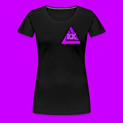 WOMAN'S BLACK T-SHIRT - Women's Premium T-Shirt