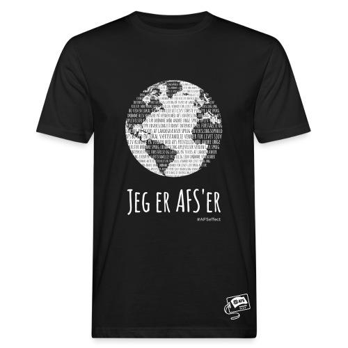 Globus med jeg er AFS'er - sort - Organic mænd