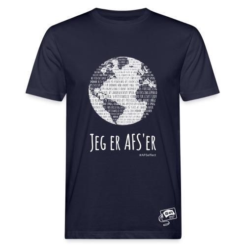 Globus med jeg er AFS'er - marineblå - Organic mænd