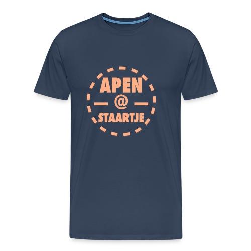 Apenstaartje T-Shirt Mannen - Mannen Premium T-shirt