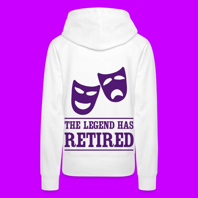 WOMANS MENS KLAZZY WHITE HOODIE