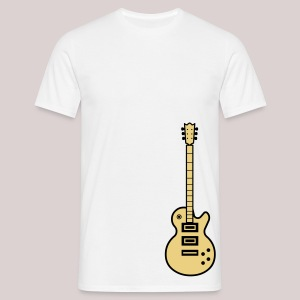 22-30 Guitar Gibson Les Paul - Männer T-Shirt