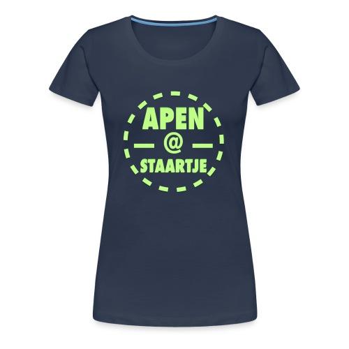 Apenstaartje T-Shirt Vrouwen - Vrouwen Premium T-shirt
