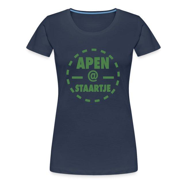 Apenstaartje T-Shirt Vrouwen