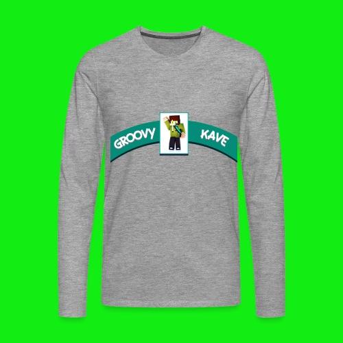 Groovykave Minecraft Langarm Shirt! - Männer Premium Langarmshirt