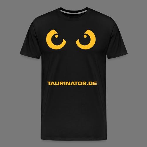 Taurinator.de UHU Premium T-Shirt - Männer Premium T-Shirt