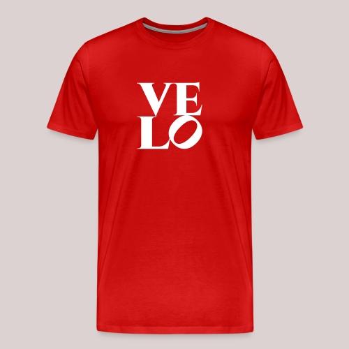 24-30 Velo Love Fahrrad T-Shirts - Männer Premium T-Shirt