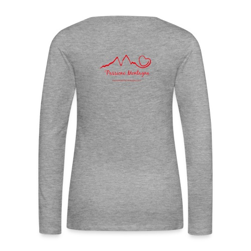 Maglia Donna Manica Lunga - Maglietta Premium a manica lunga da donna