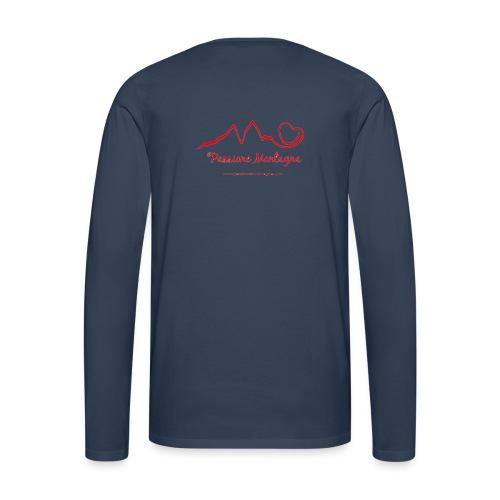 Maglia Uomo Manica Lunga - Maglietta Premium a manica lunga da uomo