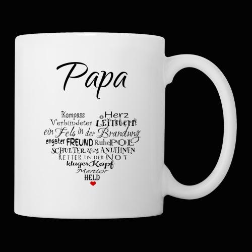 PAPA Herz Tasse - Tasse