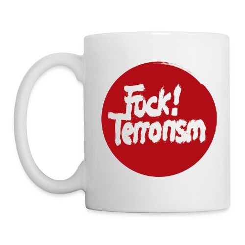 FUCK TERRORISM RED - CUP - Tasse