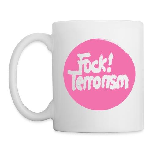 FUCK TERRORISM PINK - CUP - Tasse