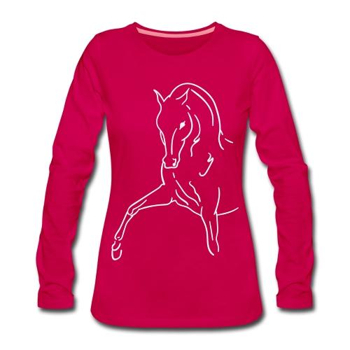Spanish Walk - Frauen Premium Langarmshirt
