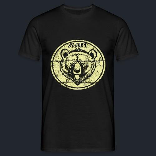 T-shirt Bear face - T-shirt Homme