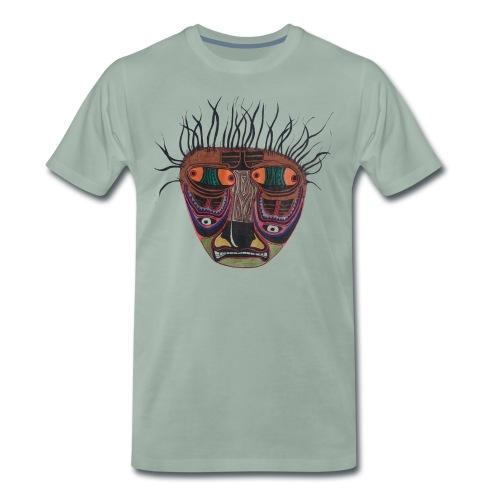 Weird Mask - Männer Premium T-Shirt