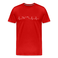 T-Shirts ~ Men's Premium T-Shirt ~ Heartbeat