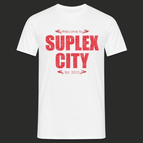 Suplex City Mens T-Shirt - Men's T-Shirt